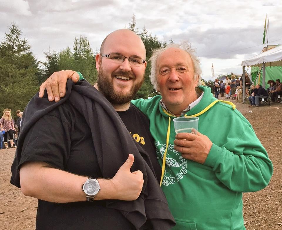 Steve Braund and Farmer Phil