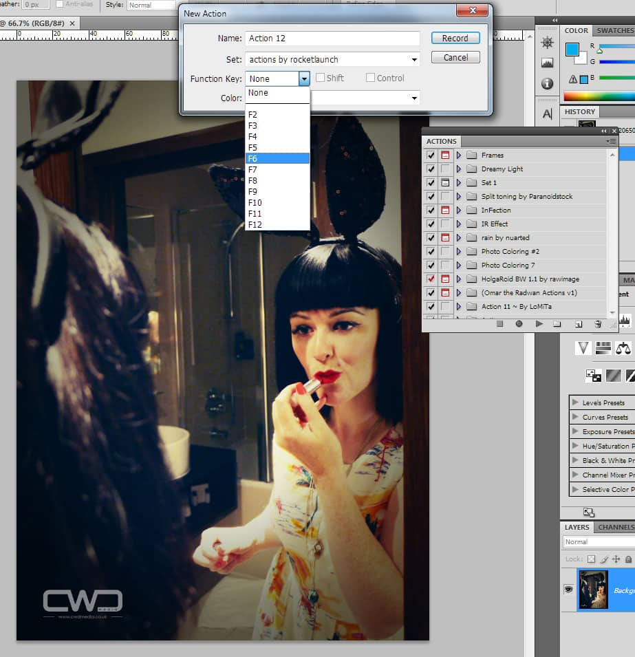 Photoshop Actions CWDmedia