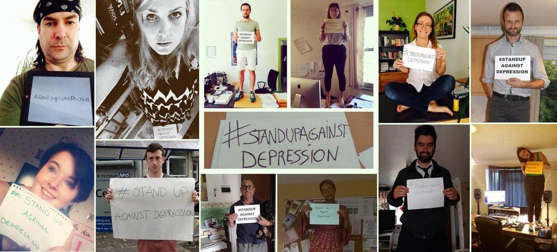 #StandUpAgainstDepression